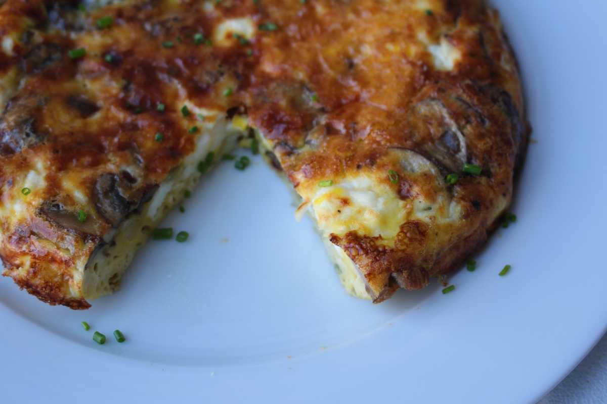 Mushroom Frittata | Food With Finkel